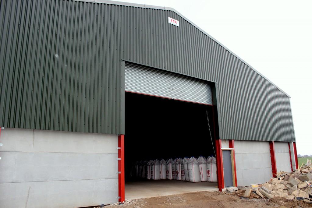 Steel-framed General Storage Building